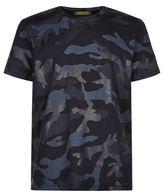 Valentino Bonded Camo Print T-shirt