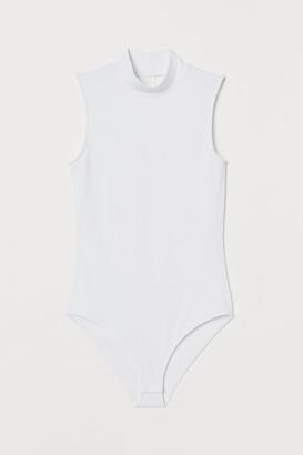 H&M Mock-turtleneck Bodysuit