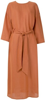 Belted Relaxed Fit Dress