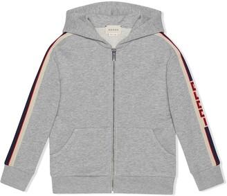 Gucci Kids Children's sweatshirt with stripe