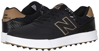 New Balance Golf 574 Greens (Black) Men's Golf Shoes