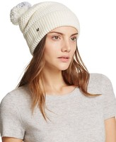 UGG Cuff Hat with Pom-Pom