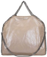 Stella McCartney Falabella Tote In Taupe Faux Leather