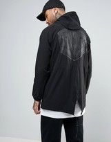 Billionaire Boys Club Nylon Parka With Back Print