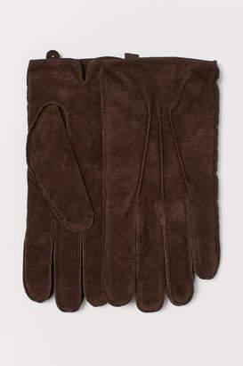 H&M Suede Gloves - Beige
