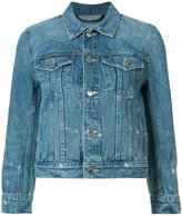 Helmut Lang denim jacket - women - Cotton/Polyester - M