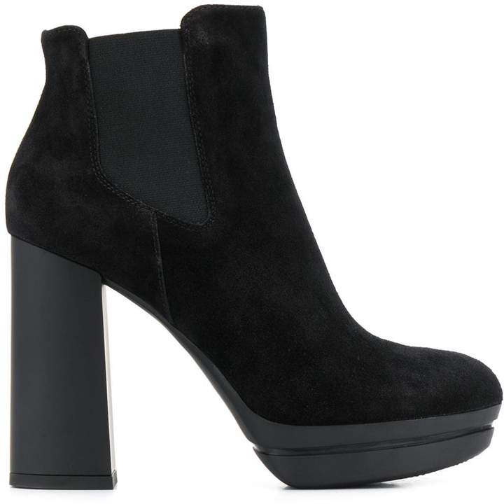 a55c905d02d chunky heel ankle boots