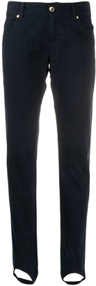 Moschino Pre Owned 1990s Ankle Strap Slim-Fit Jeans