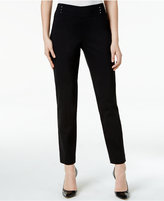 JM Collection Studded Ankle Pants, Only at Macy's