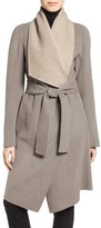 Diane von Furstenberg Reversible Double Face Wrap Coat