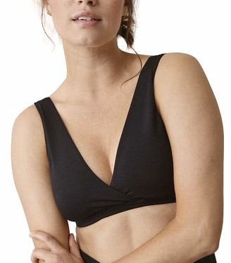 Boob Women's Adjustable 24/7 Breast-Feeding Maternity Bra in Sustainable Fibers with Quick Nursing Access (S