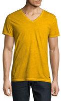 BOSS ORANGE Washed V-Neck T-Shirt