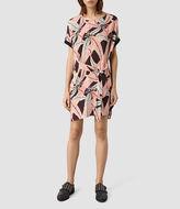 AllSaints Sonny Fuji Dress