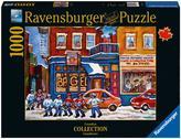 Ravensburger St. Viateur Bagel and Street Hockey scene 1000 pieces Puzzle