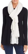 Echo Cable Knit Fringe Scarf - 100% Bloomingdale's Exclusive