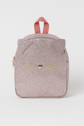 H&M Glittery Mini Backpack