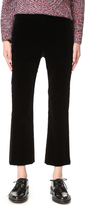 Theory Erstina Stretch Velvet Pants