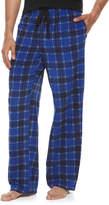 Croft & Barrow Men's Patterned Microfleece Lounge Pants