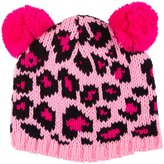 Betsey Johnson Spot A Trend Beanie - Pink-Large
