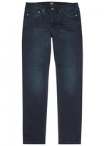 Ps By Paul Smith Ps By Paul Smith Indigo Overdyed Slim-leg Jeans