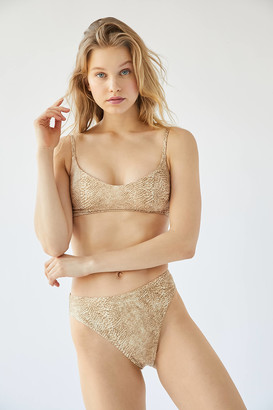 Out From Under Animal Party High-Cut Bikini Bottom