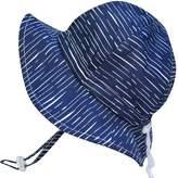 Twinklebelle Baby Sun Hat, Size Adjustable, 50 UPF Cotton