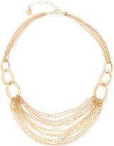 Liz Claiborne Gold-Tone Chain Collar Necklace