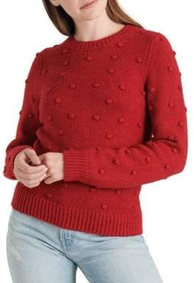 Lucky Brand Bobble-Knit Crewneck Sweater