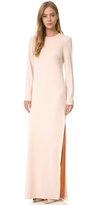 Cédric Charlier Long Sleeve Gown