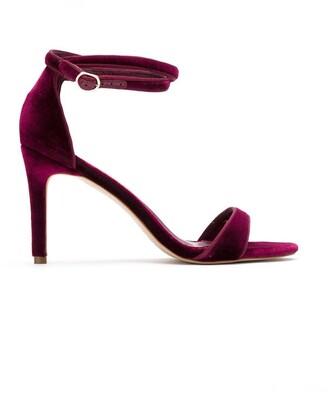 Sarah Chofakian Velvet Sandals