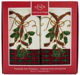 Lenox Holiday Nouveau Ribbon 2-pack Fingertip Towel Set