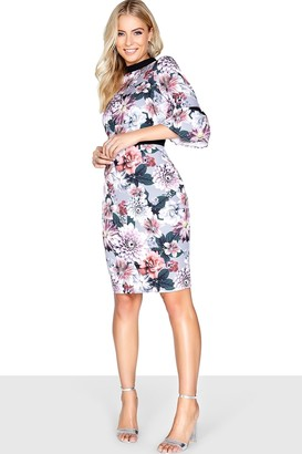 Paper Dolls Outlet Dusky Floral Dress