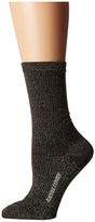 Rachel Comey Metallic Rib Sock Women's Crew Cut Socks Shoes