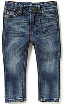 7 For All Mankind Baby Girls 12-24 Months Slimmy Knit Denim-Look Jeans