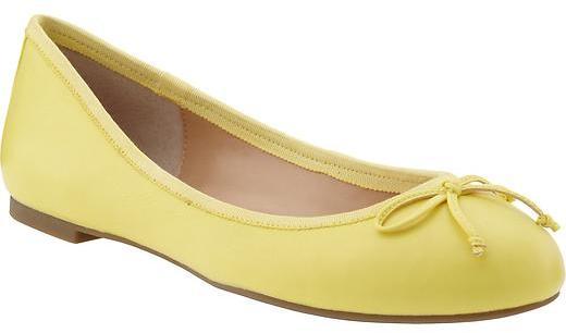 Banana Republic Ashley bow ballet flat