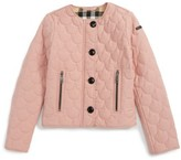 Burberry Girl's Mini Westwell Quilted Jacket