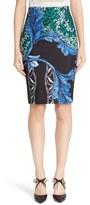 Yigal Azrouel Women's Print Scuba Pencil Skirt