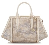Brahmin Arden Leather Satchel - Beige