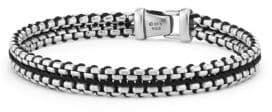 David Yurman Box Chain Sterling Silver Bracelet