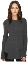 Cashmere In Love True Frill Detailed Ribbed Pullover