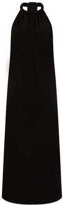Cocoove Lullah Halter Maxi Dress In Black