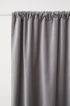 H&M 2-pack Velvet Curtain Panels