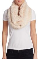 Yves Salomon Rabbit Fur Snood