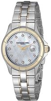 Raymond Weil Women's 9460-SG-97081 Two-Tone Stainless Steel Watch