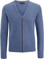 Boiled Knit Zip Cardigan