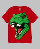 Micro Me Red T-Rex Tee - Toddler & Kids