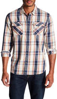 True Religion Utility Plaid Regular Fit Shirt