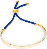 Monica Vinader Fiji 18ct gold-plated friendship bracelet