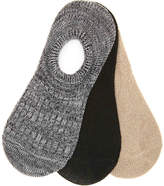 Mix No. 6 Solid No Show Liners - 3 Pack - Women's