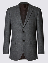 Collezione Pure Cashmere 2 Button Jacket With Buttonsafetm